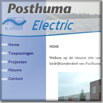 Klik hier voor de website van Posthuma Electric